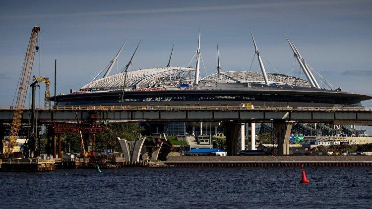Новый стадион вПетербурге примет матчи РФПЛ вапреле-мае предстоящего года