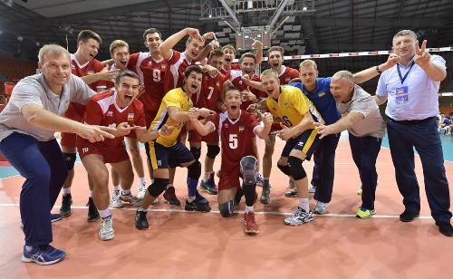 Русские волейболисты взяли «бронзу» чемпионата Европы