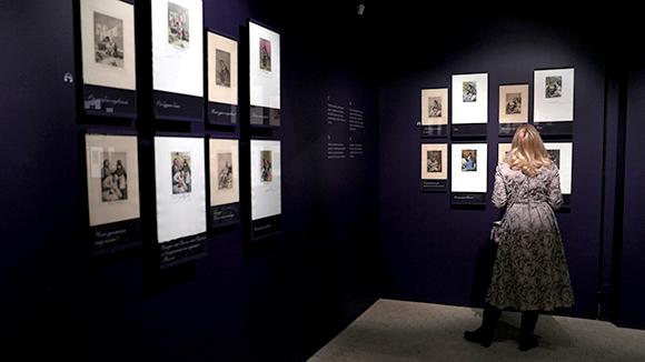 Пушкинский музей открыл выставку «Капричос. Гойя иДали»