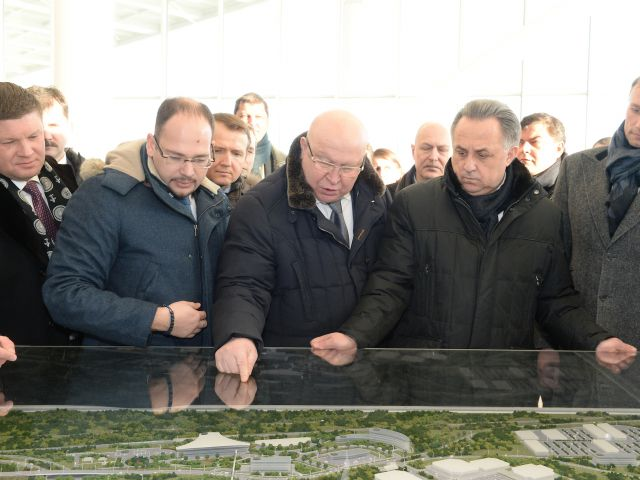 Начальники организационного комитета ЧМ-2018 посетили Нижний Новгород