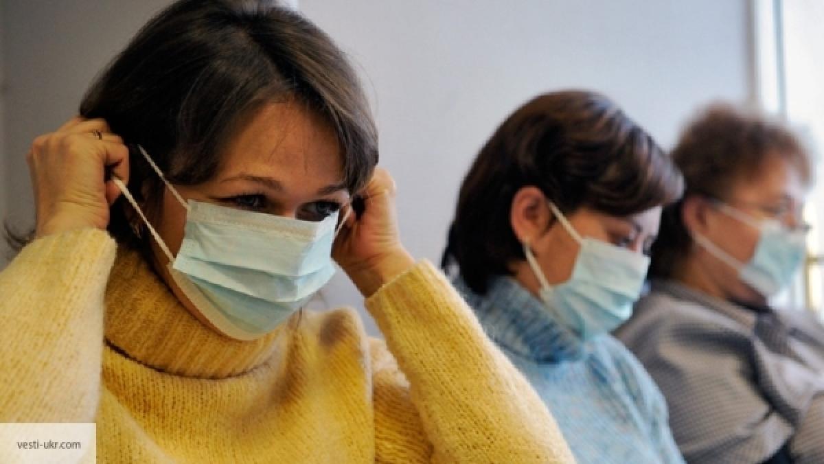 ВУкраинском государстве мед. сотрудники регистрируют резкое снижение характеристик заболеваемости гриппом иОРВИ