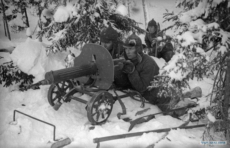 Советско-финская война 1939-1940 годов Зимняя война