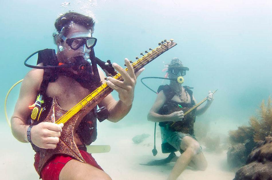 Подводный фестиваль музыки, Флорида, США