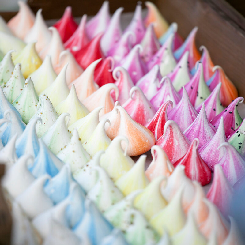 colorful meringue for sale