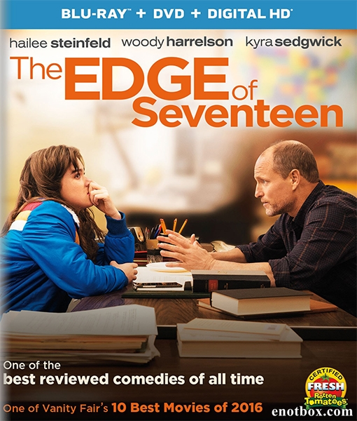 Почти семнадцать / The Edge of Seventeen (2016/BDRip/HDRip)