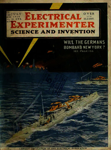 Electrical Experimenter: 1918 July - - Book Cover