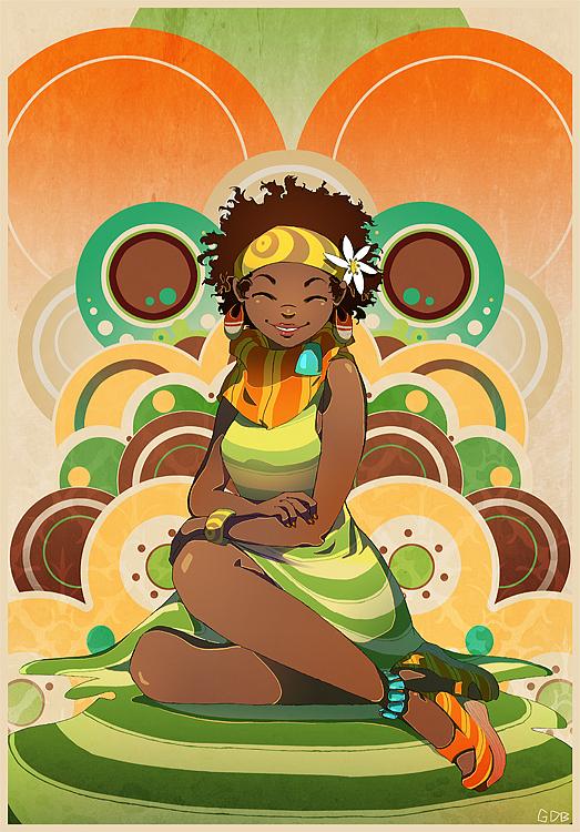 Beautiful Illustrations by Geneva Benton
