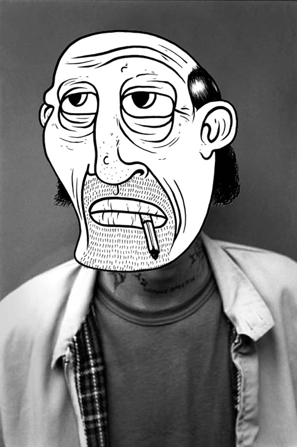 Yesonme Faces - Les portraits detournes de Yesonme