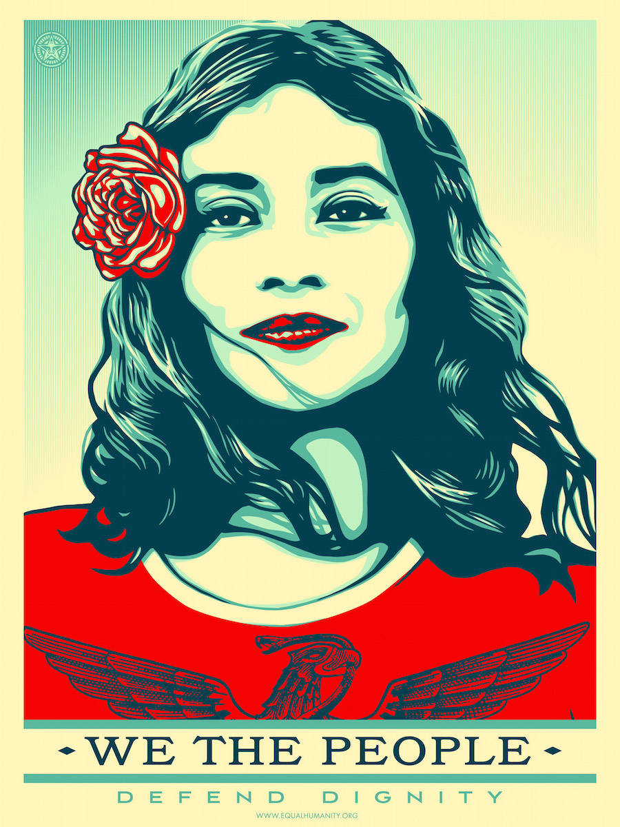 Latest Shepard Fairey Engaged Prints