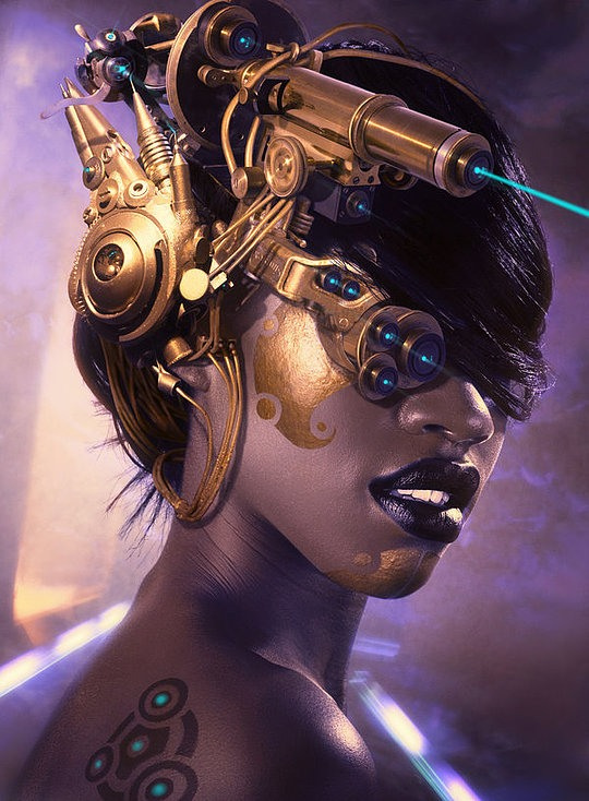 Digital Art by Oliver Wetter
