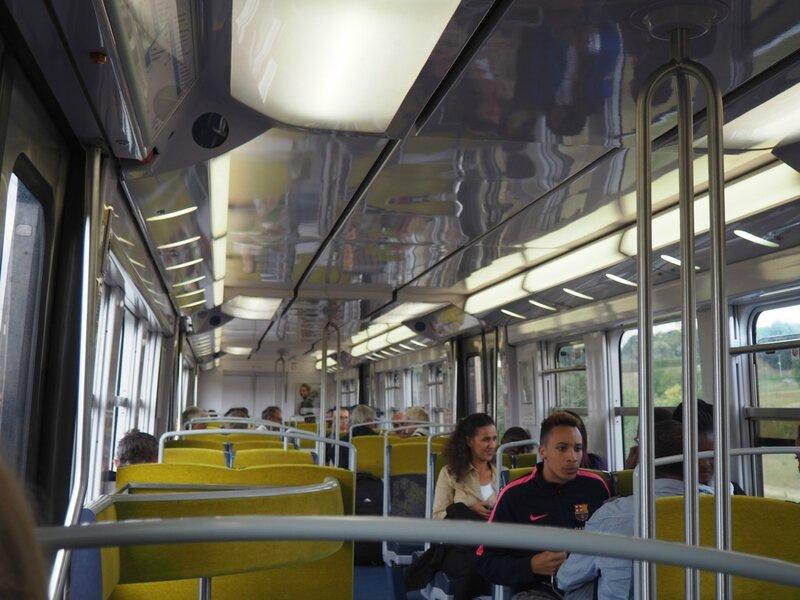 Франция, поезд RER (France train RER)