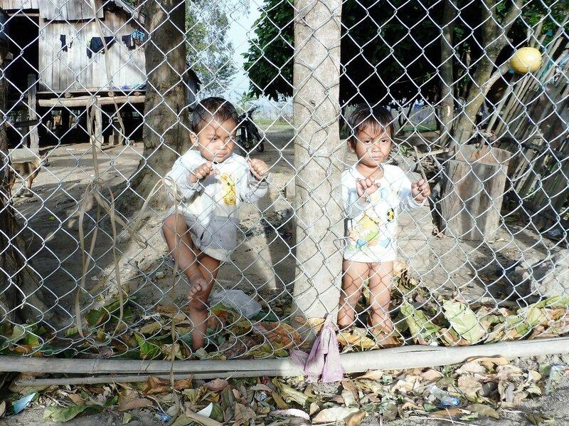 Дети племени мнонгов