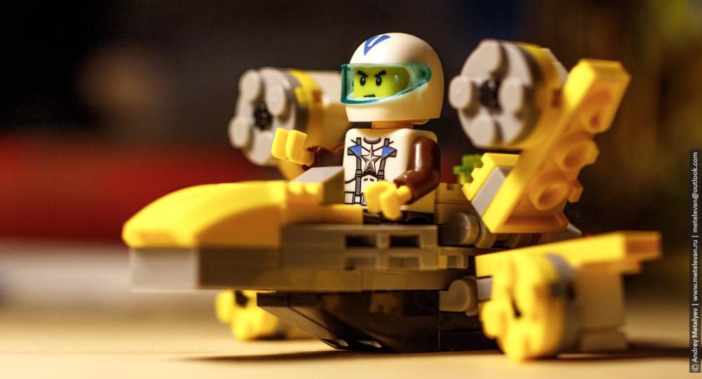 мои увлечения в виде космонавта лего
