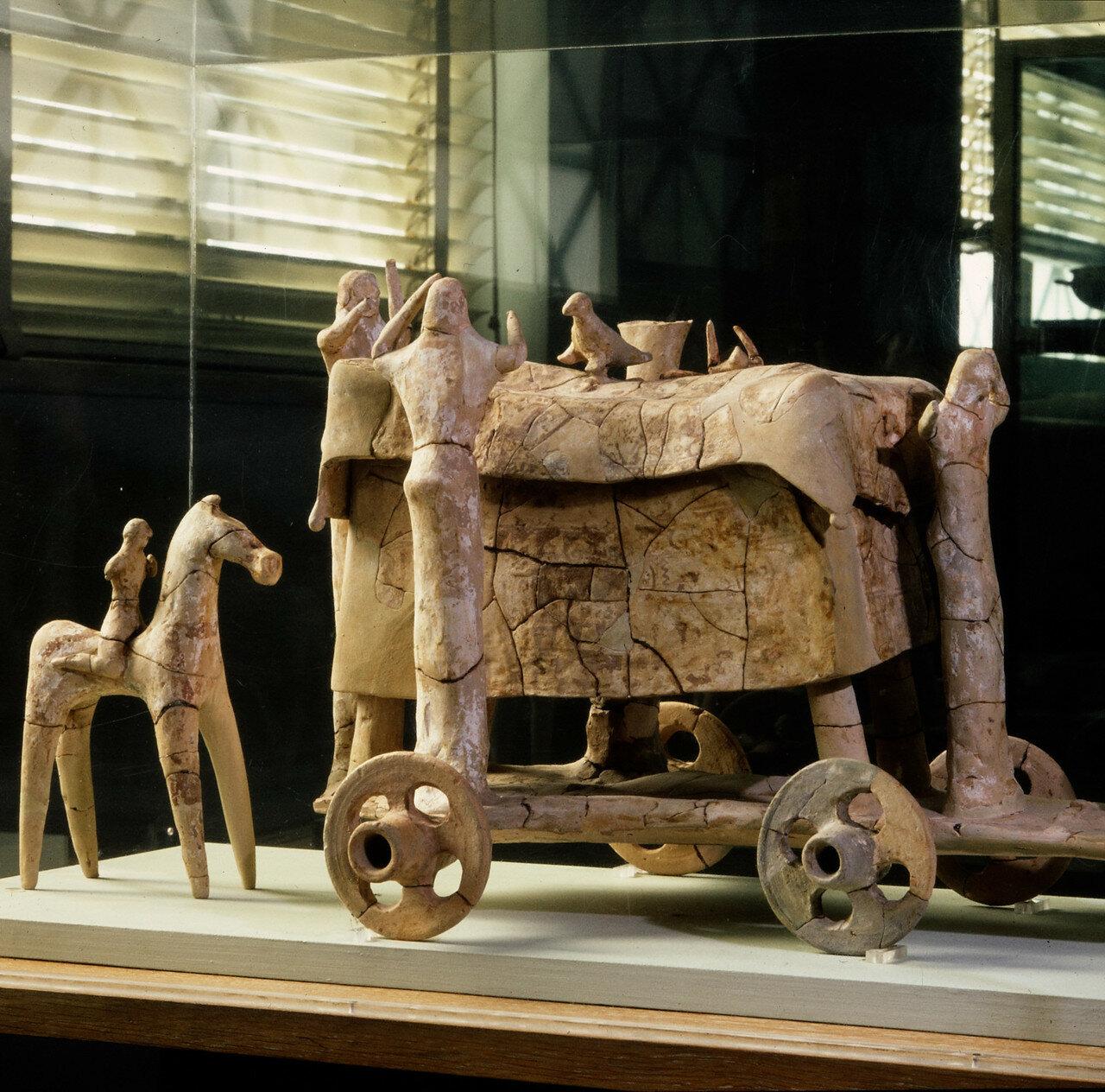Погребальные дроги. Середина VII в. до н.э.
