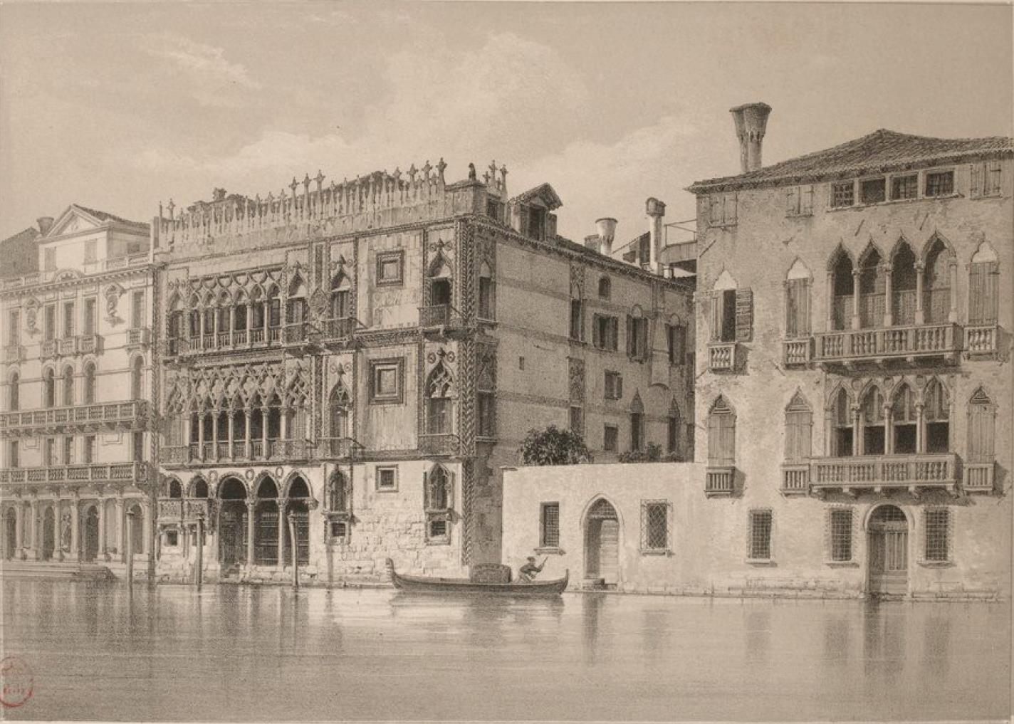 Италия. Венеция. «Золотой Дом»