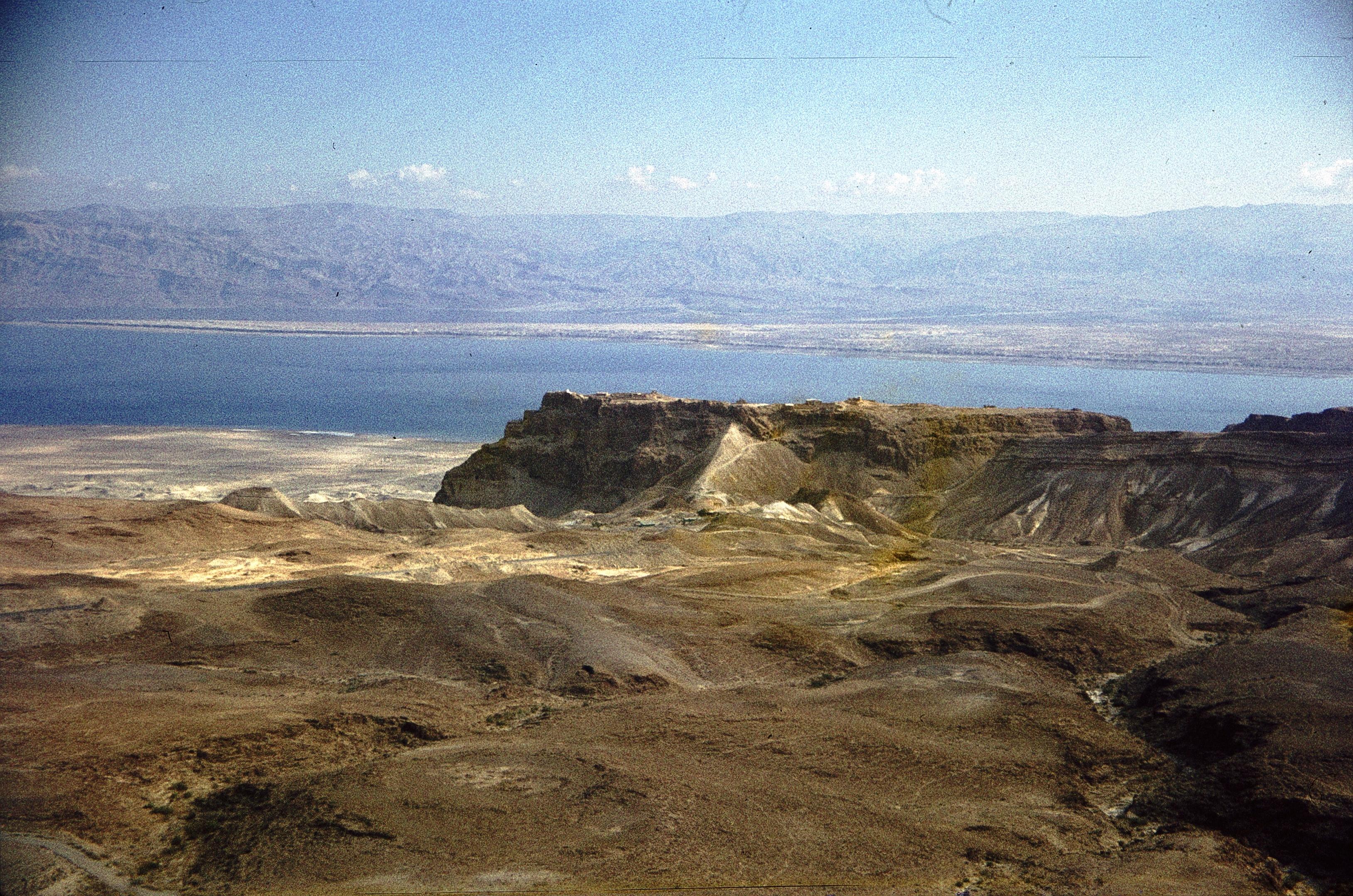 Масада и Мертвое море