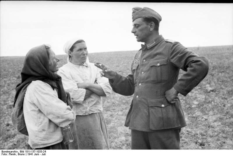 «Красная звезда», 26 сентября 1941 года, немецкая оккупация