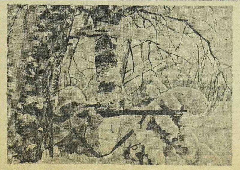 «Красная звезда», 4 января 1942 года, советские снайперы, убей немца, смерть немецким оккупантам
