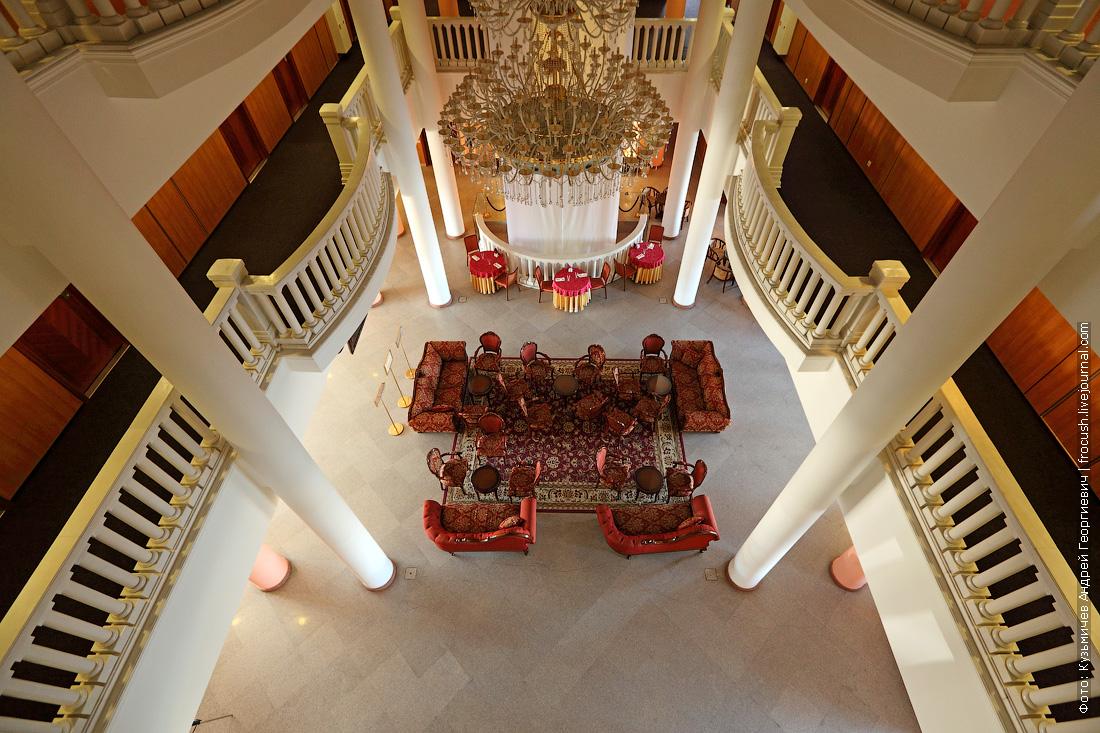 атриум отеля волжская ривьера