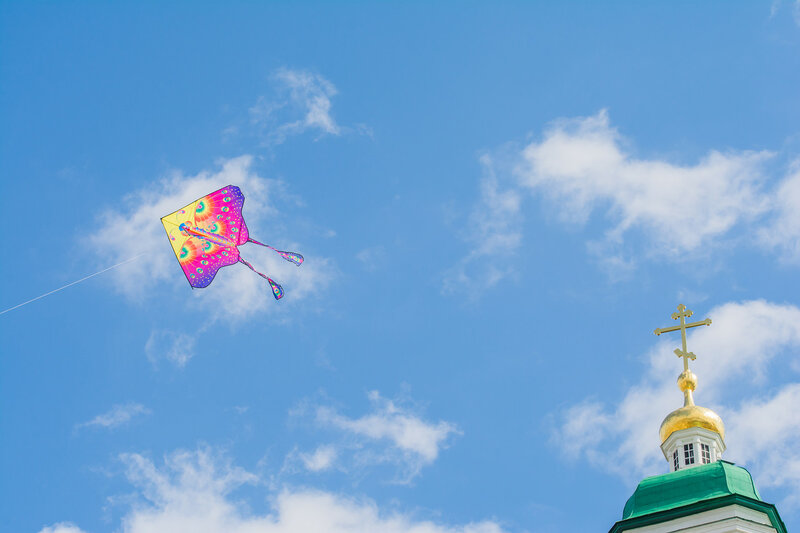 В Астраханском кремле прошел «Воздухфест»