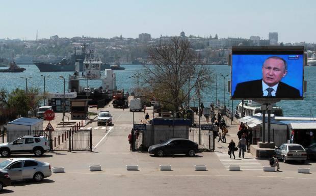 На остановках появляются уличные громкоговорители, которые зомбируют местных жителей в режиме нон-стоп, - Крымский Бандеровец