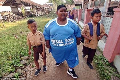 Самому толстому ребенку удалось похудеть