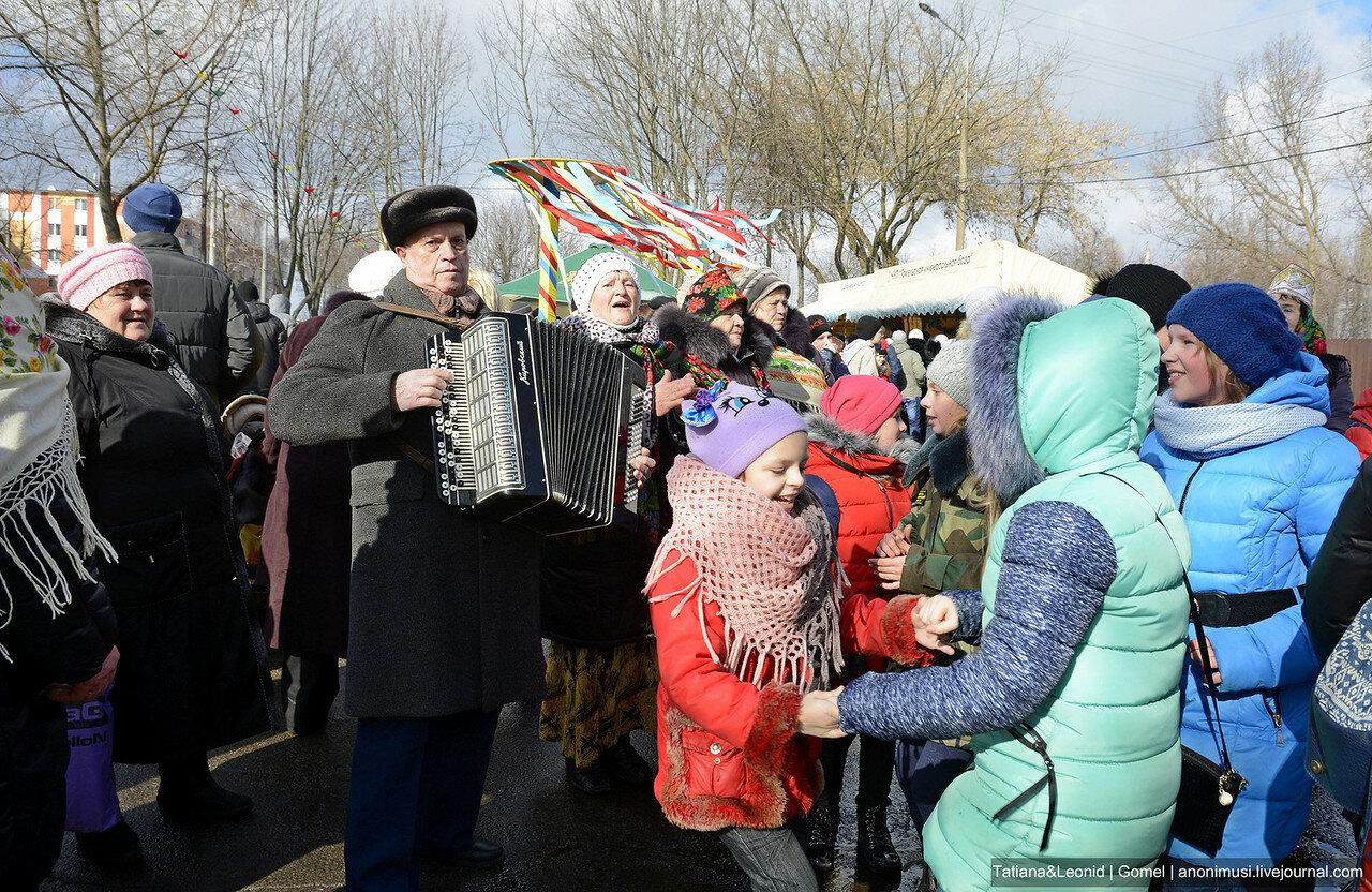 Масленица-2017 в Советском р-не. Гомель