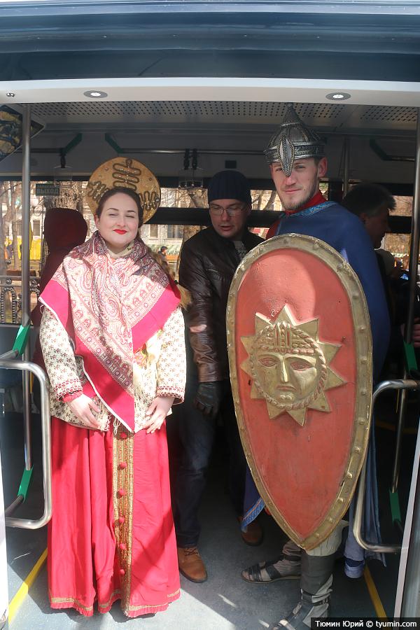 Журналист и путешественник Юрий Тюмин поделился с экологами репортажем о параде трамваев в Москве  - фото 17