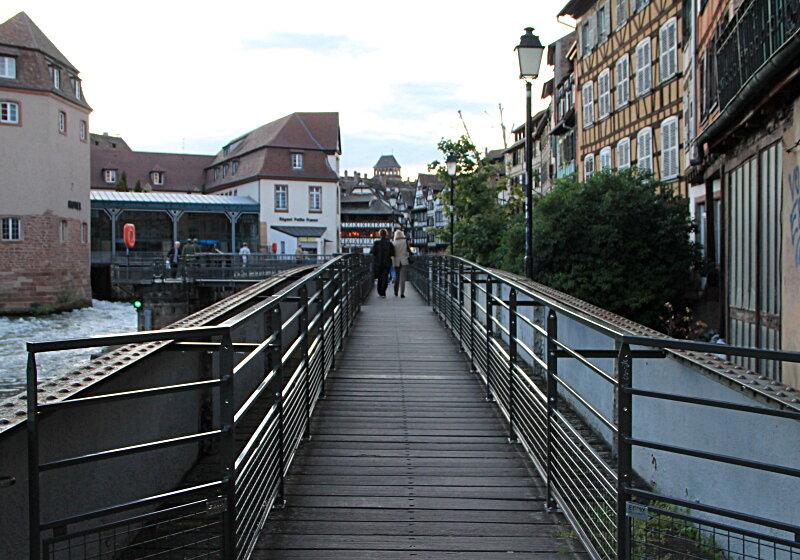 Страсбург. Вечер в Маленькой Франции
