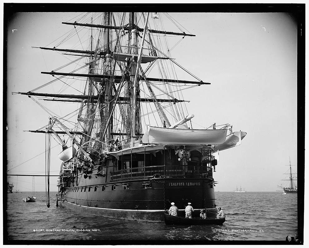 6. Крейсер «Генерал-Адмирал».