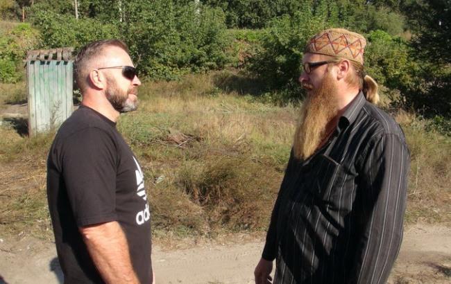Радикалы разрушили строящуюся церковь УПЦМП вКиевской области