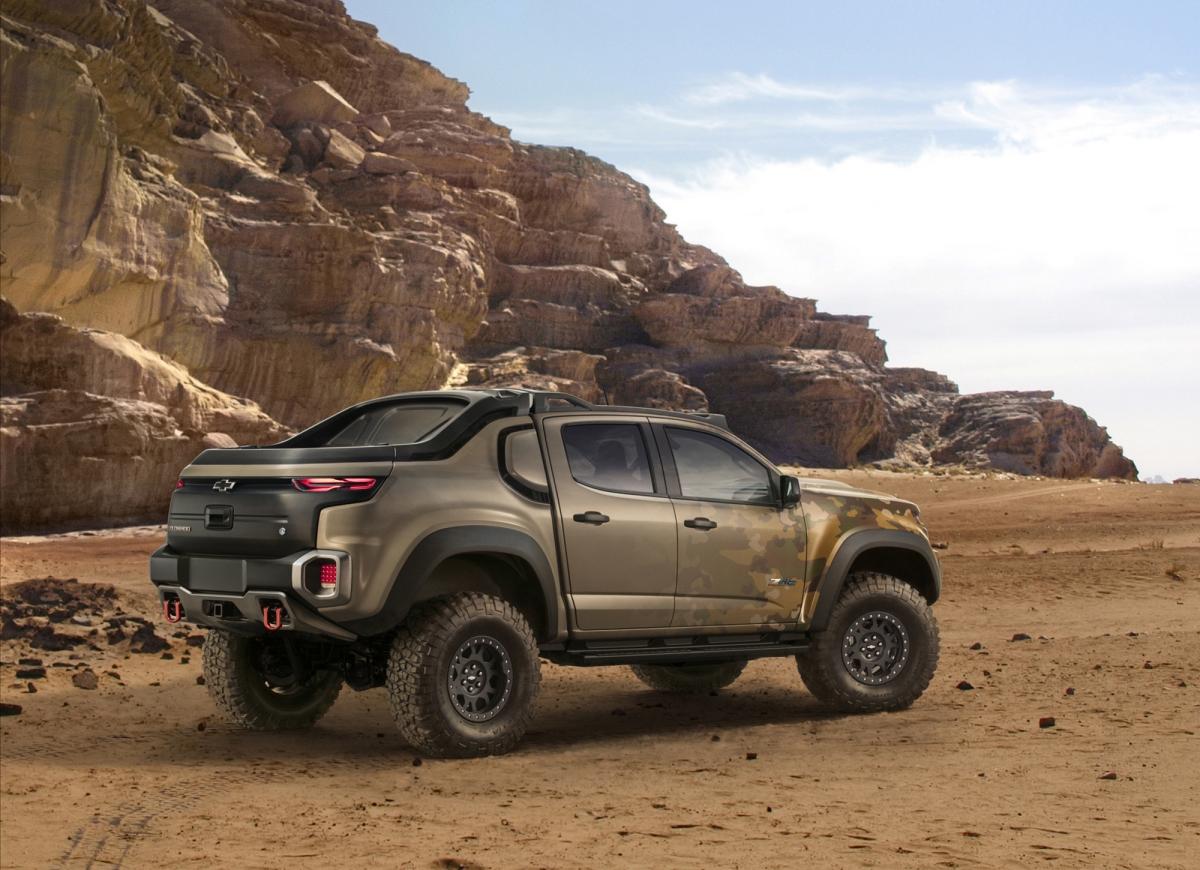 Компания Шевроле построила крутое водородное авто для военных