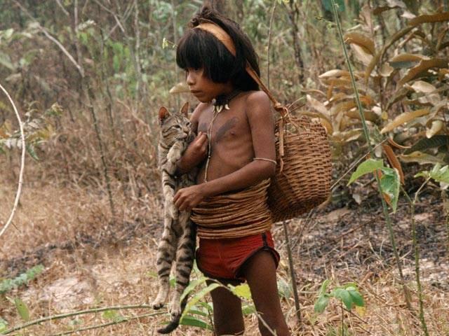 племя индейцев Пираха