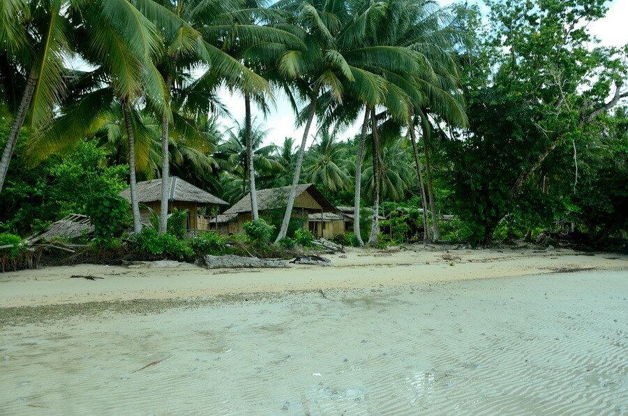 Мелкий пляж