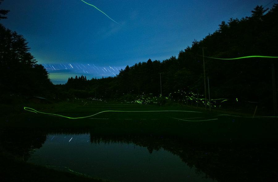 Photo by Yasushi Kikuchi .