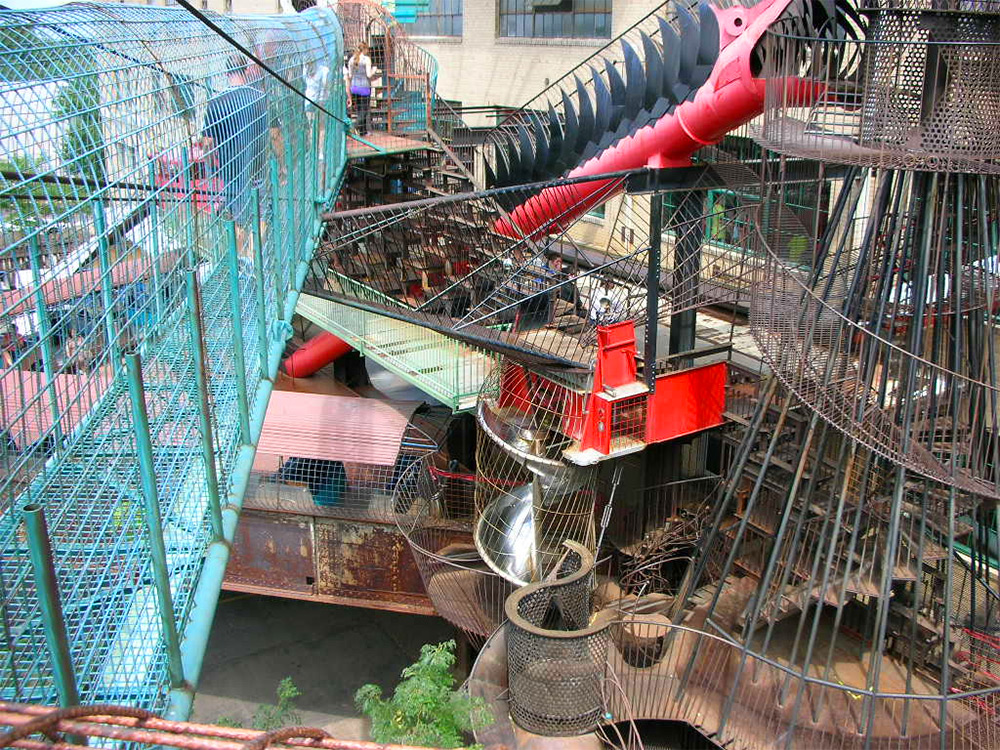 City Museum: A 10-Story Former Shoe Factory Transformed into the Ultimate Urban Playground