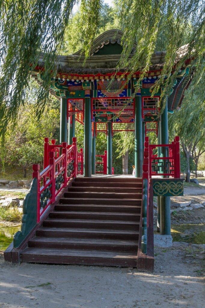 Мостик, парк Юаньминъюань, Пекин