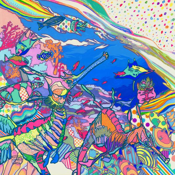 As Ilustracoes Psicodelicas de Asakura Kouhei