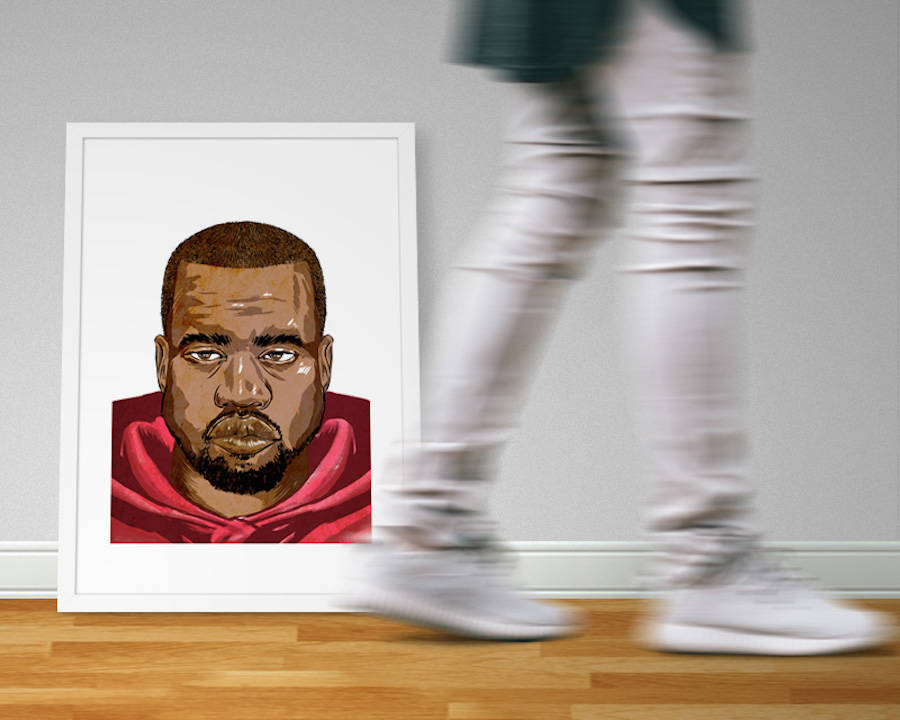 Stunning Portraits of Hip Hop Artists