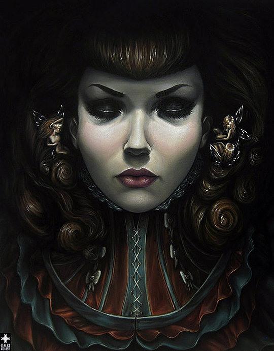 Fantastic Portraits by Omri Koresh
