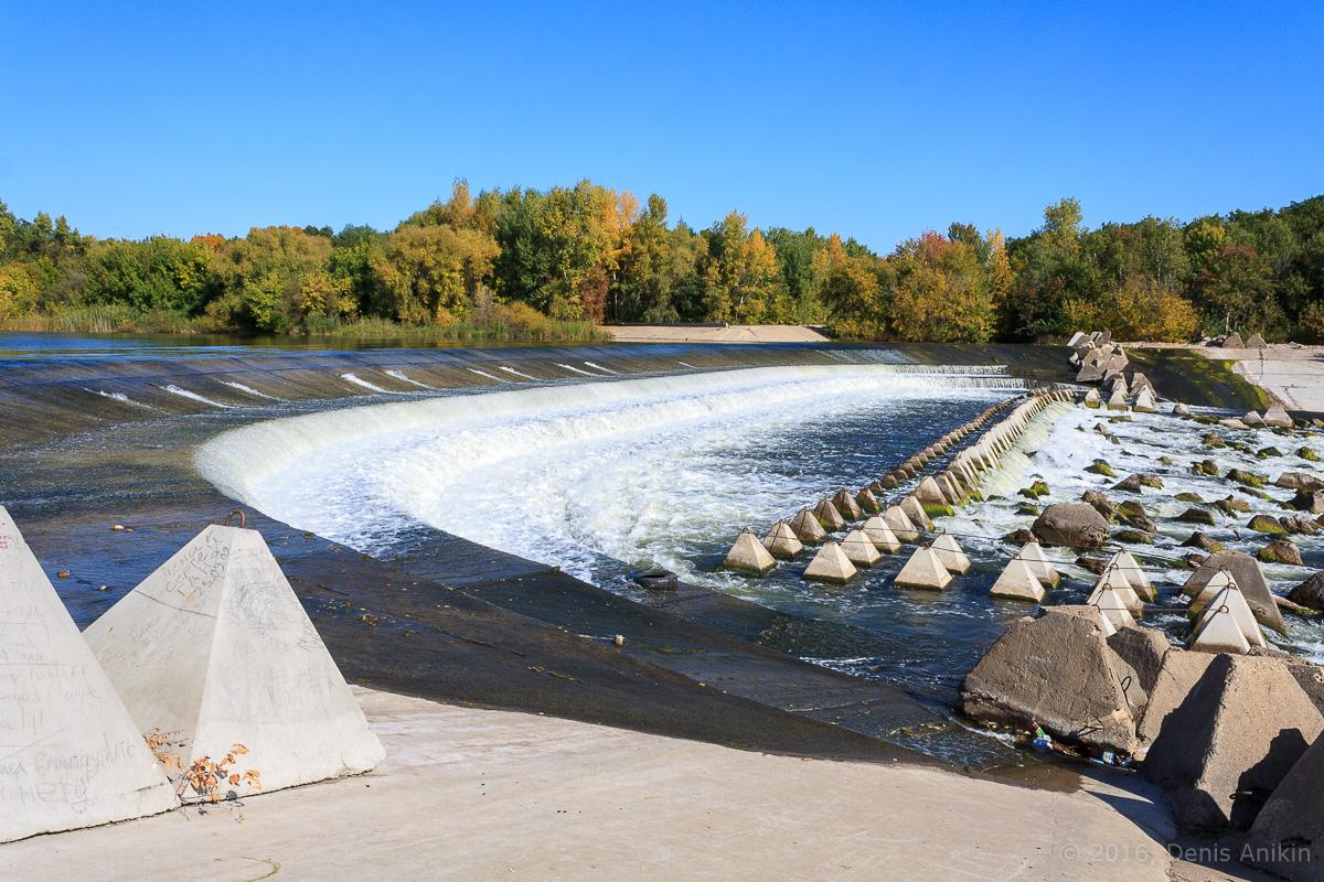 Переливная плотина на реке Большой Иргиз 4