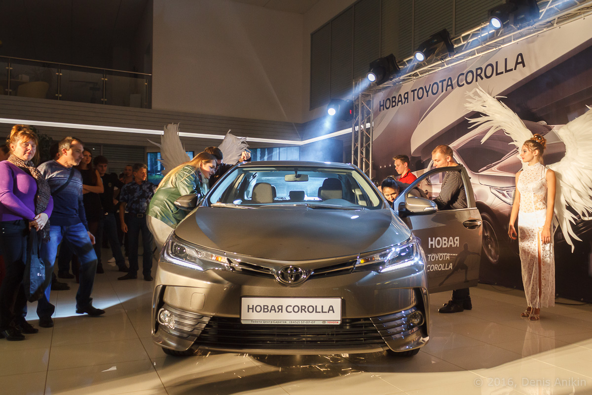 Презентация Toyota Corolla 11