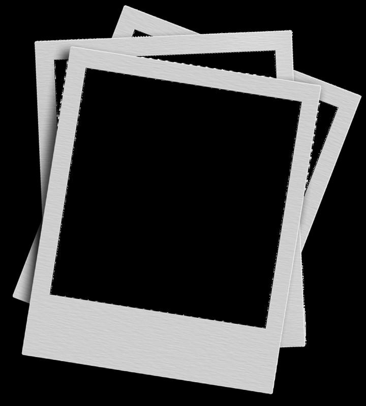 blank polaroid background - 720×800
