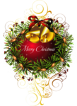 Red_Merry_Christmas_Transparent_Christmas_Ball_with_Bells_Clipart_Picture.png