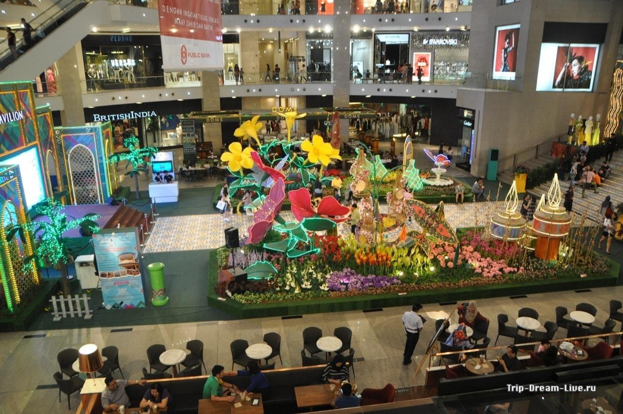 Один из торговых центров на Bukit Bintang