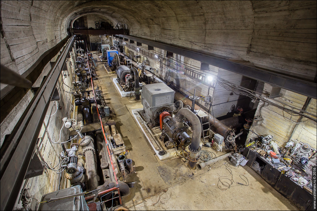 Водоотлив шахты
