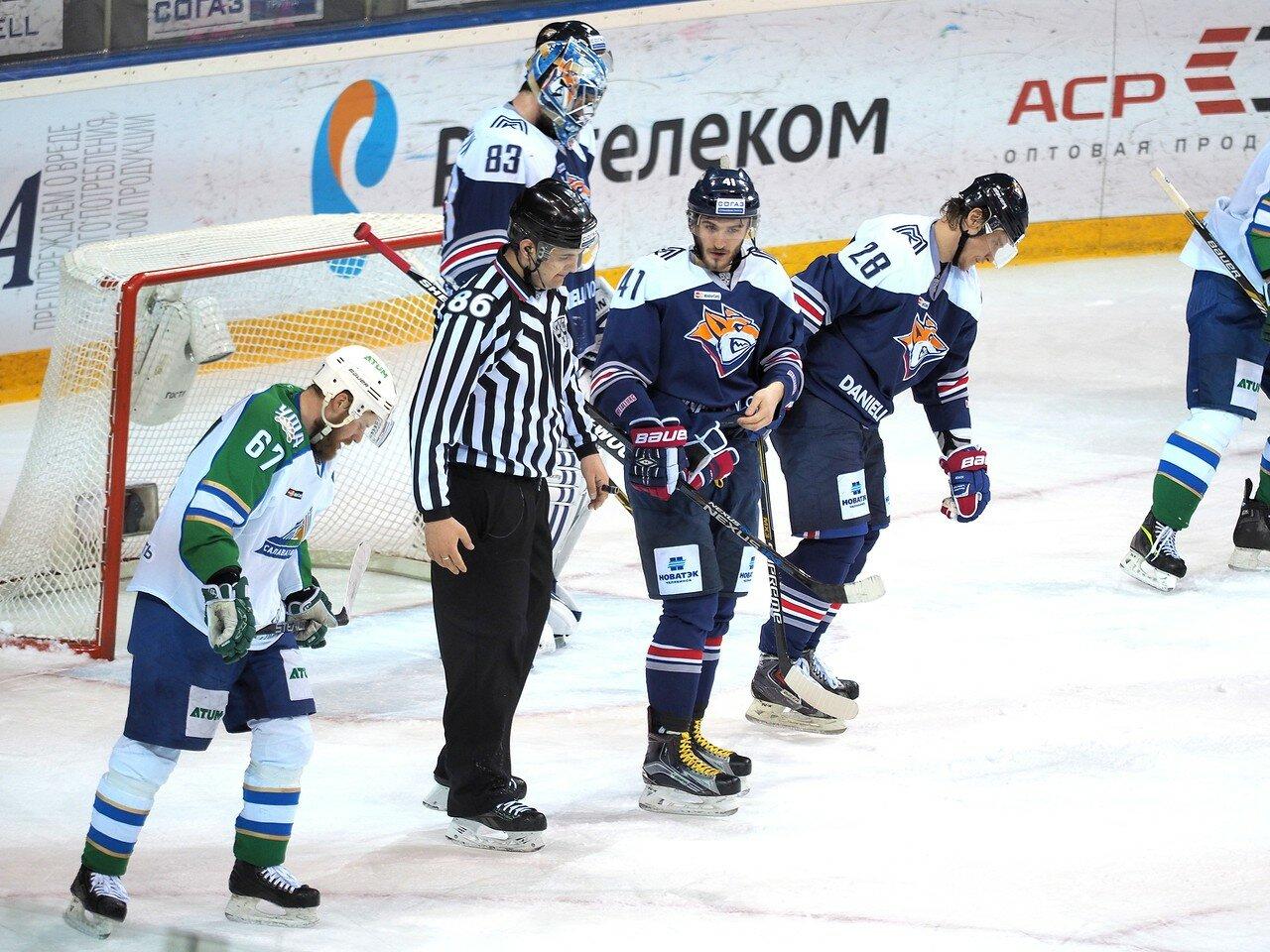 38Плей-офф 2016 Восток Финал Металлург - Салават Юлаев 25.03.2016