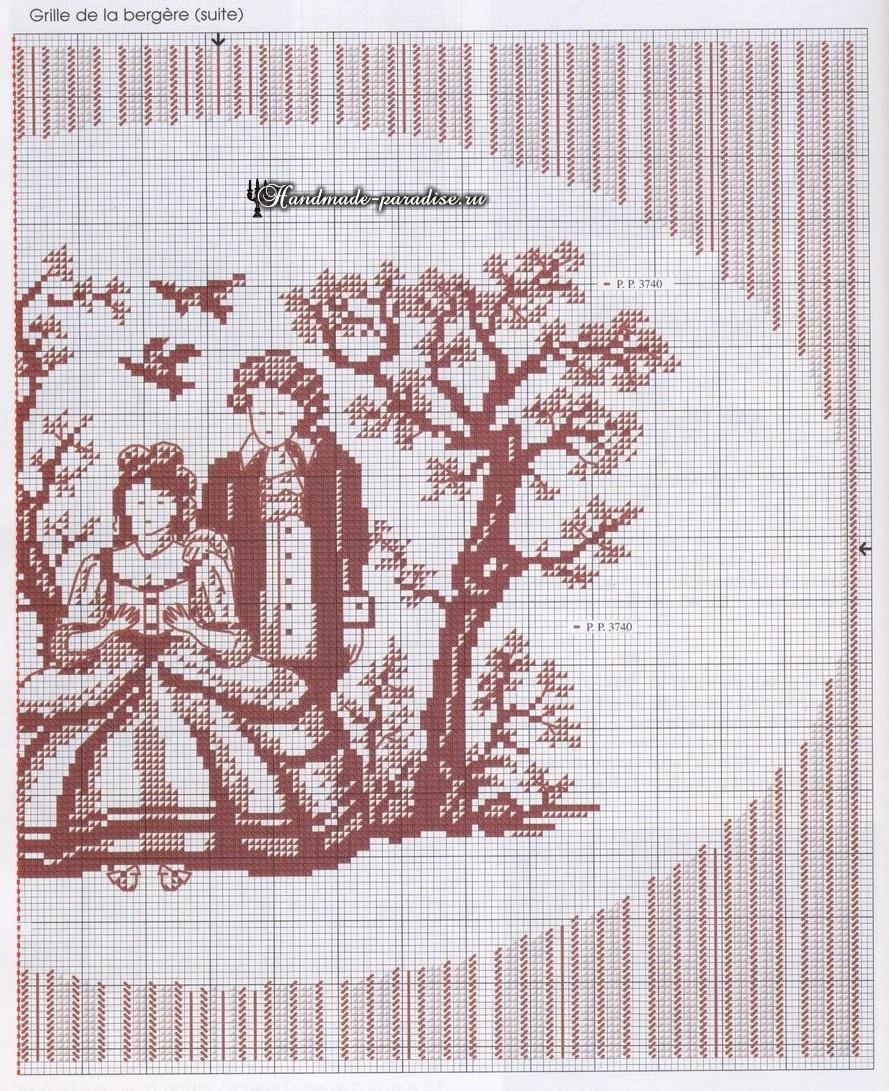 схема вышивки крестиком мои сезоны из журнала настуня