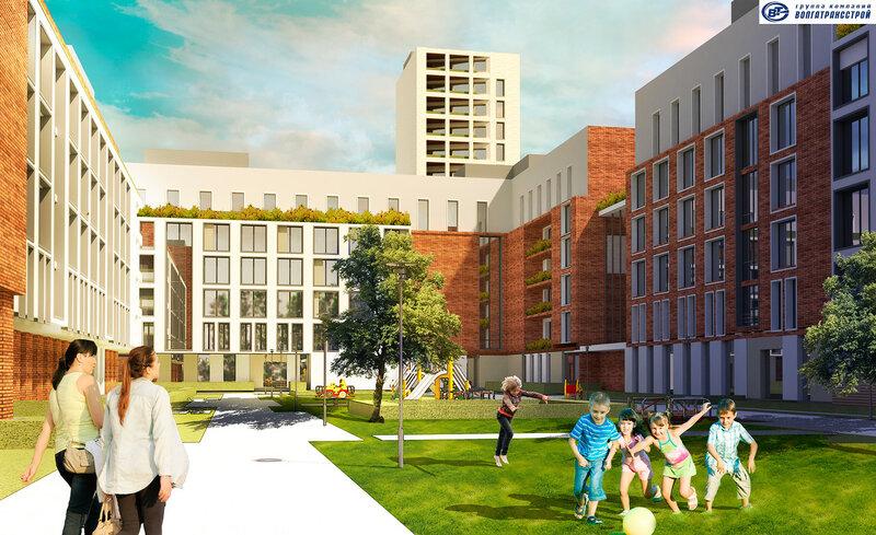 Жилой район «Центральный Парк» для проекта «Южный город»