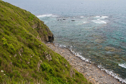 Юго-восточный берег мыса Вятлина